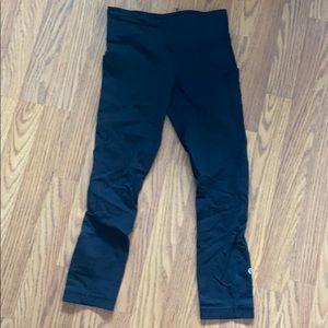 Lululemon pace rival black pants size 2